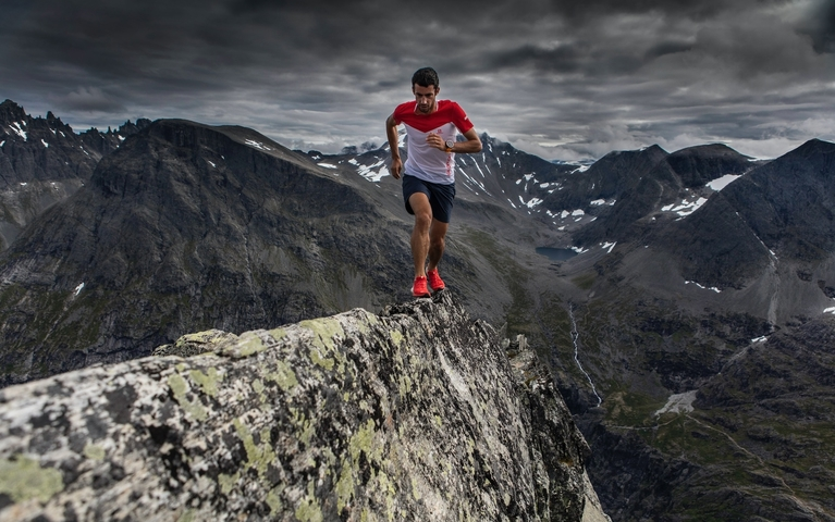 «My name is Kilian Jornet, I travel around and I try to climb mountains as<span class='oval'>…</span>